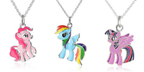 mlp necklaces