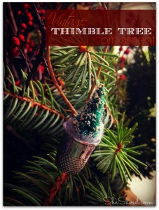 Thimble Tree ornament