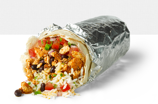 Chipotle Coupon FREE Burrito After Sofritas Purchase