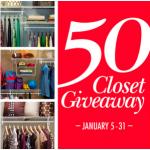 ClosetMaid 50th Anniversary Sweepstakes
