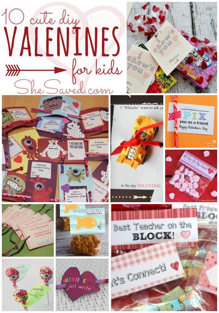 DIY Valentines Day Cards