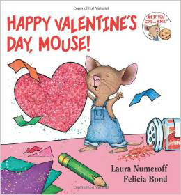 Happy Valentine's Day Mouse Board Book