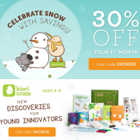 Kiwi Crate 30% Off Your First Month