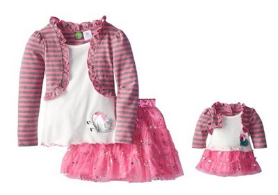 Little Girls Valentine's Day Outfits