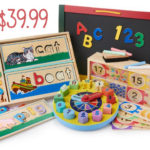 Melissa & Doug Educational Bundle For $39.99