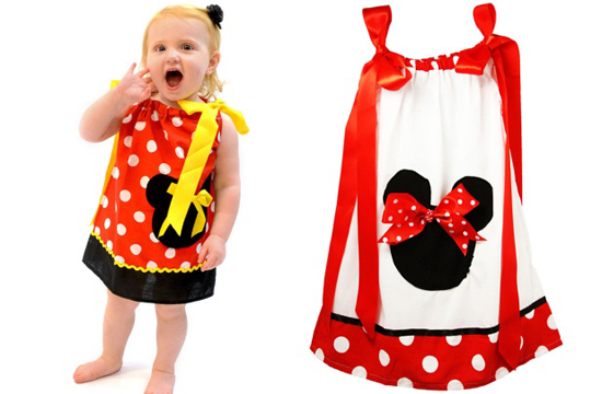 Minnie Pillowcase Dresses For $12.99
