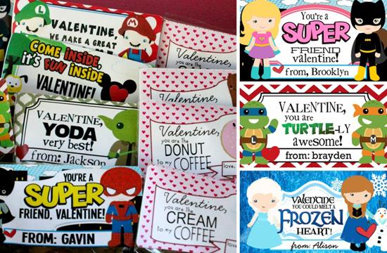 Personalized Valentine Stickers