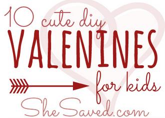 10 DIY Valentines for Kids