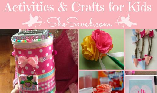 10 Easy Valentine Crafts & Activities for Kids