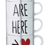 Stacking Love Mugs