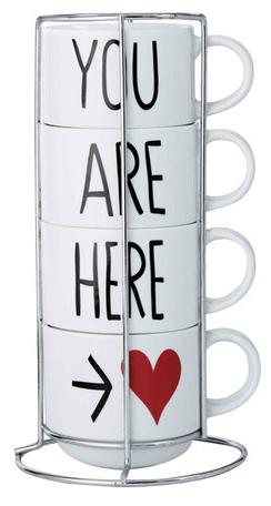 Stacking Love Mugs