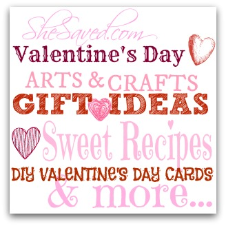 photo regarding Valentine's Day Printable Decorations named Valentines Working day Present Tips, Decorations Excess - SheSaved®