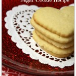 Valentines Day Sugar Cookie