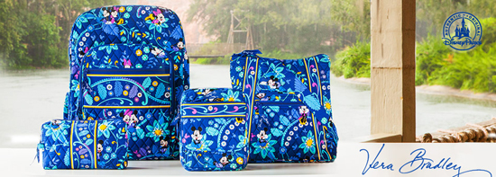 Vera Bradley Disney Parks Collection!