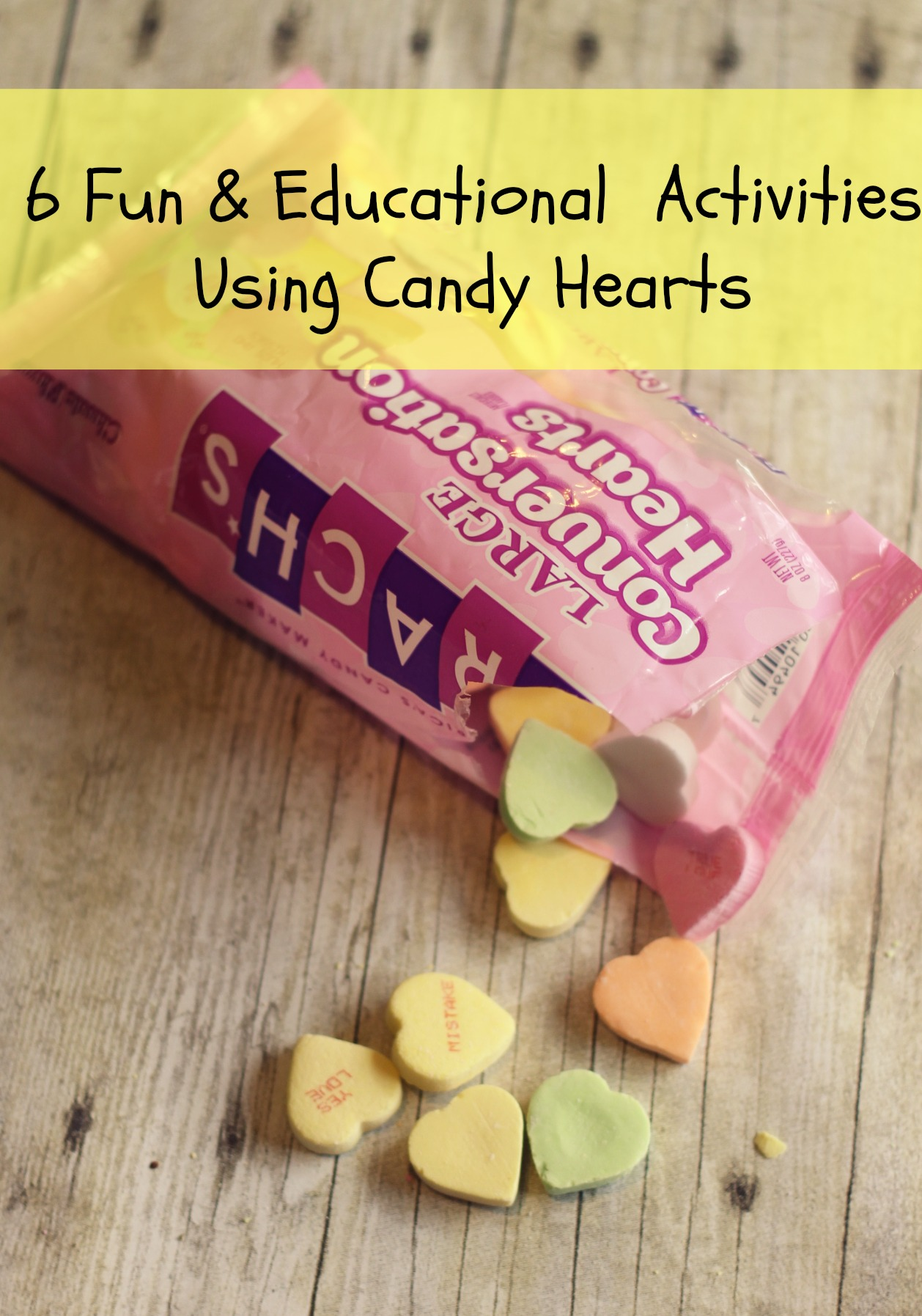 6 Fun & Educational Activities Using Valentine's Day Heart Candy