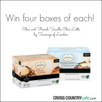 Enter to Win EIGHT Boxes of K-cups from Cross Country Cafe!