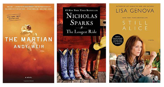 10 Books Becoming Movies