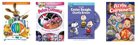10 Easter DVDs For Kids