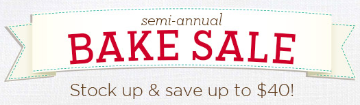Cheryl's Semi-Annual Bake Sale Save Up To $40 Off