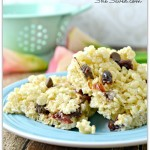 Easy Chocolate Cherry Rice Krispie Treats Recipe