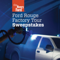 Ford Rouge Factory Tour Sweepstakes