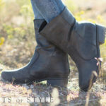 Short Distressed Boots