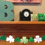 St Patrick's Day Felt Garland