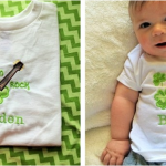 St Patrick's Day Personalized Kid's T-Shirts