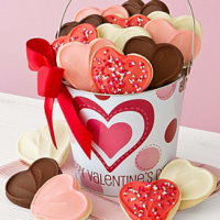 Valentine's Day Cookie Pail For $18.49