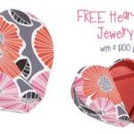 FREE Heart to Heart Jewelry Case
