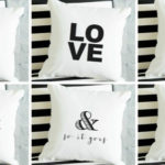 Quote Canvas Pillow Covers