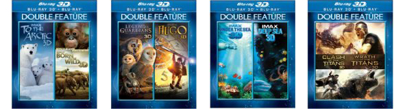 3D Blu-Ray Double Features Under $20