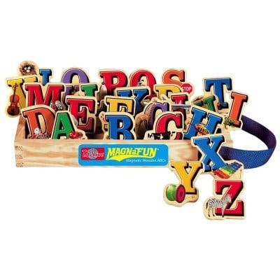 Alphabet Letters Wooden Magnets