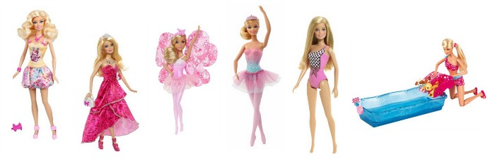Easter Basket Ideas! Barbie Dolls and Accessories Starting at $3.99 Shipped!
