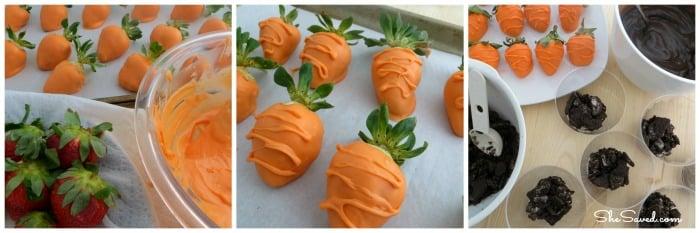 Carrot Strawberries