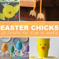 20 Easter Chick Crafts for Kids
