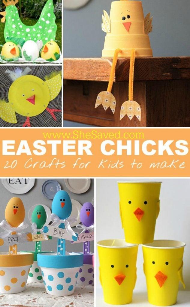 Easter Craft Chicks