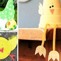 20 Easter Chicks Crafts for Kids