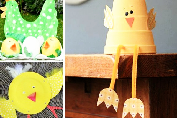 Easter Crafts for kids to make at school or home