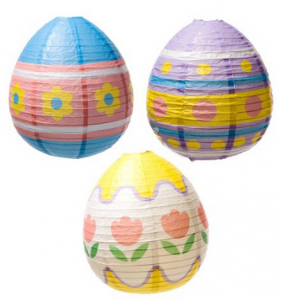 Easter Egg Lantern Decorations