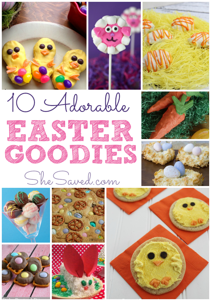 10 Easter Treats To Make With Kids Shesaved 174