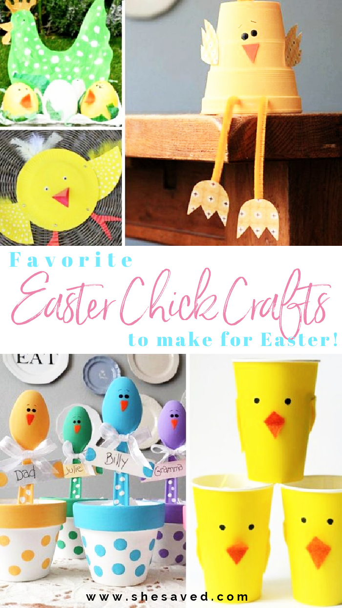 Favorite Easter Chick Crafts to Make