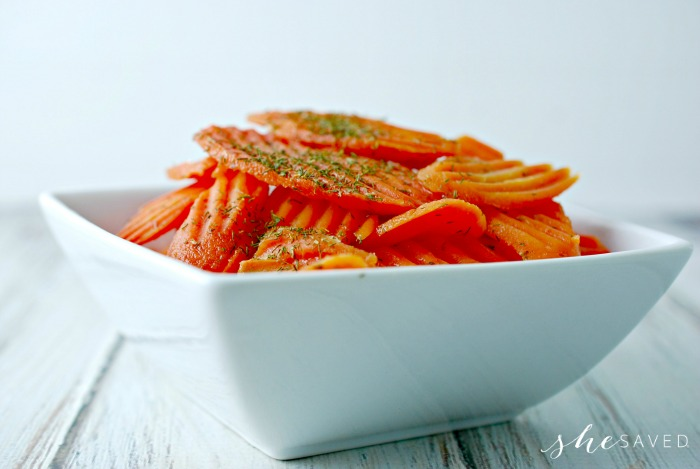 Glazed Carrots Side Dish