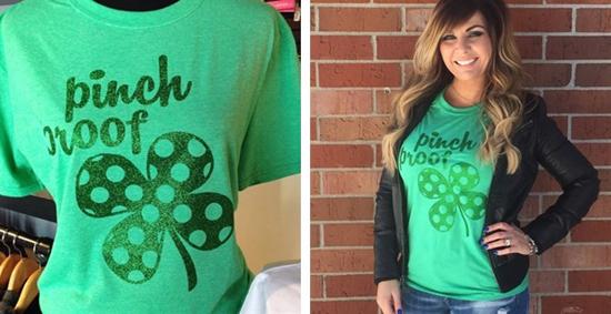 Pinch Proof Glitter T-Shirt
