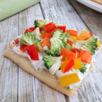 Easy Veggie Pizza Appetizer Recipe