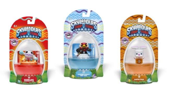 Skylander Easter Eggs