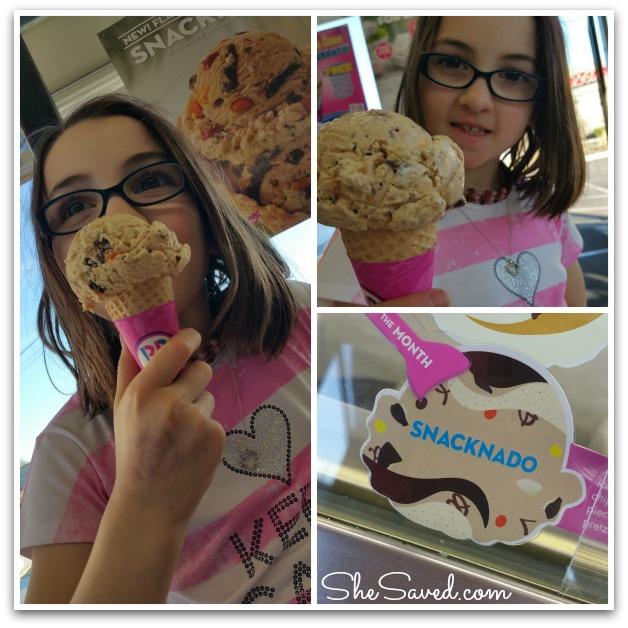 Snacknado Ice Cream
