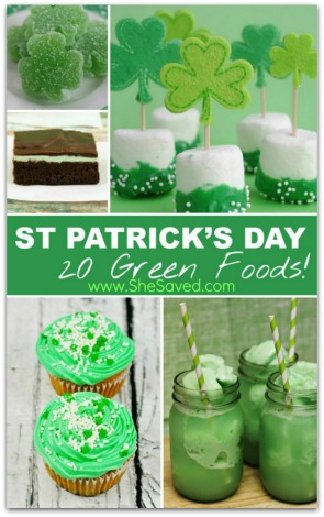 St. Patrick's Day Green Food Ideas