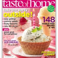 RARE! Taste of Home Magazine Only $4.99 per Year!