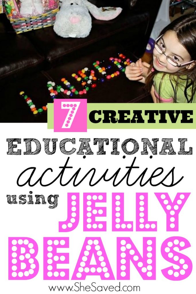 Looking for fun Easter Ideas? Here are some fun activities using jelly beans! Your kids will love them and they are educational too!